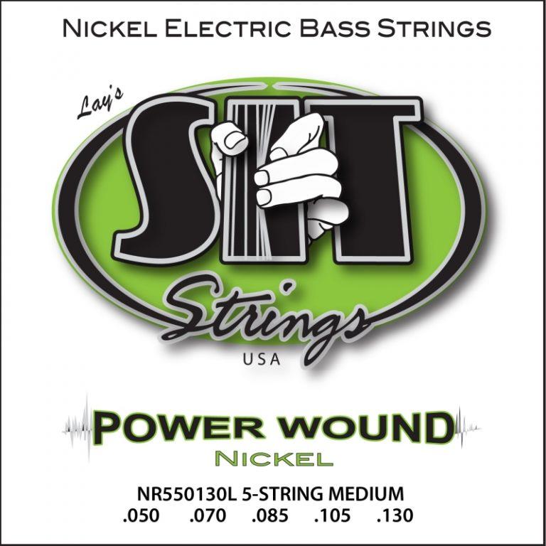 สายเบส SIT 50-130 Power Wound 5-String Medium Nickle Bass ขายราคาพิเศษ