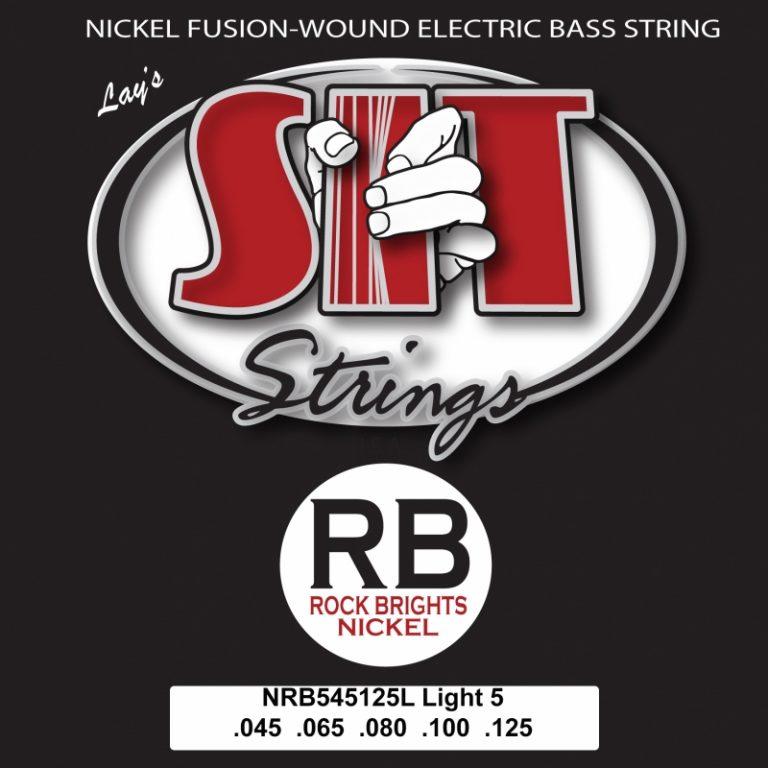 สายเบส SIT 45-125 RB Nickel Bass 5-String Light ขายราคาพิเศษ