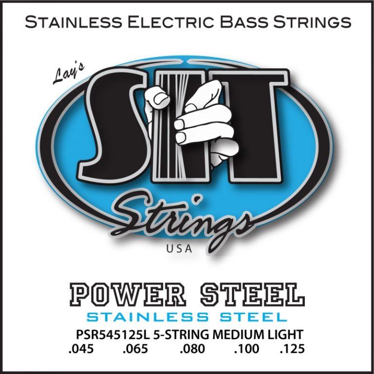 สายเบส SIT 45-125 Power Steel Stainless Steel Bass 5-String Light ขายราคาพิเศษ