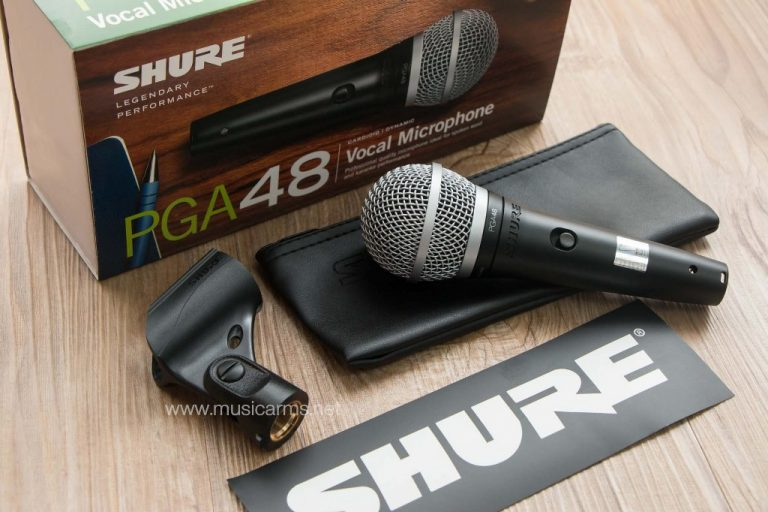 Shure PGA48-LC ไมโครโฟน ขายราคาพิเศษ