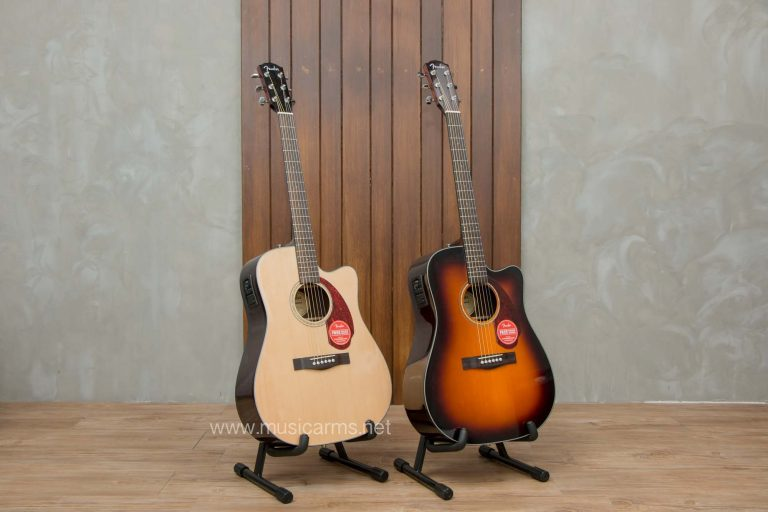 Fender CD-140 SCE โปร่งไฟฟ้า Top Solid ขายราคาพิเศษ