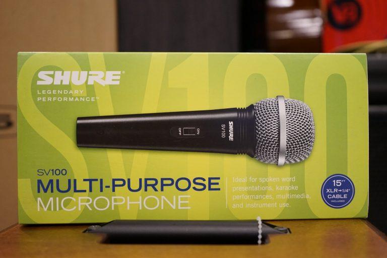 Showcase ไมโครโฟน Shure SV100