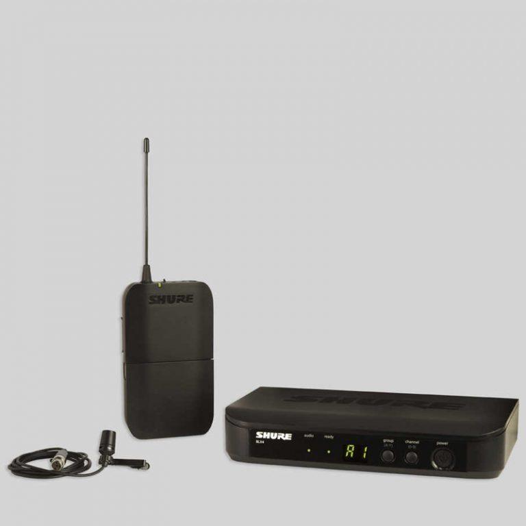 Shure BLX14RA/CVL R12 ชุดไมโครโฟนไร้สาย ขายราคาพิเศษ