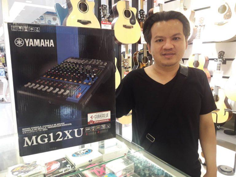 ลูกค้าที่ซื้อ มิกเซอร์ Yamaha รุ่น MG12XU