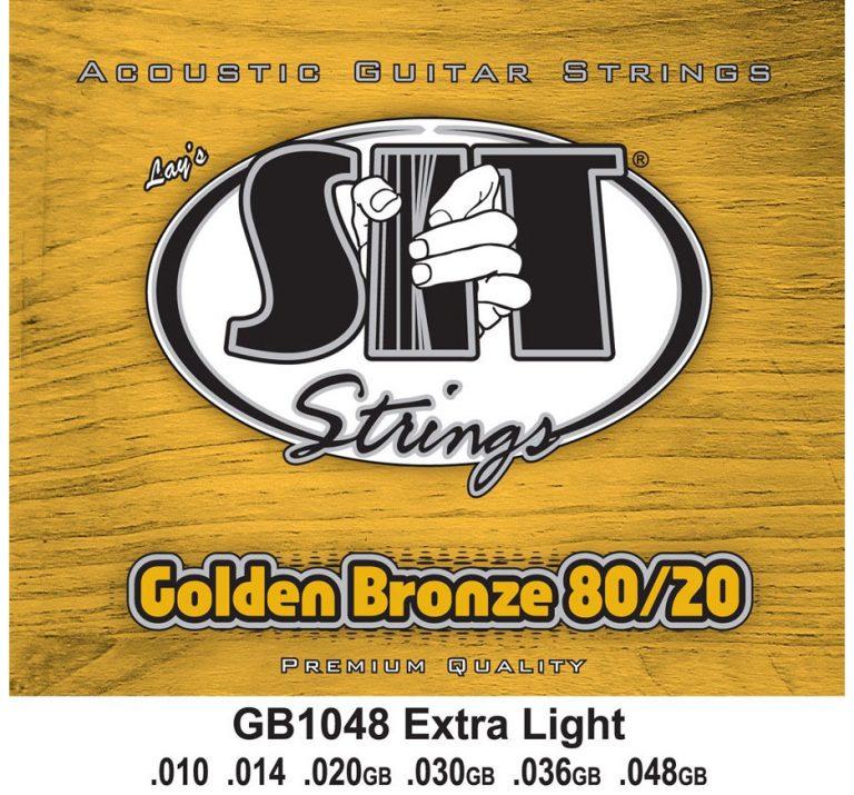 SIT 10 GB1048 Golden Bronze 80/20 Extra Light ขายราคาพิเศษ