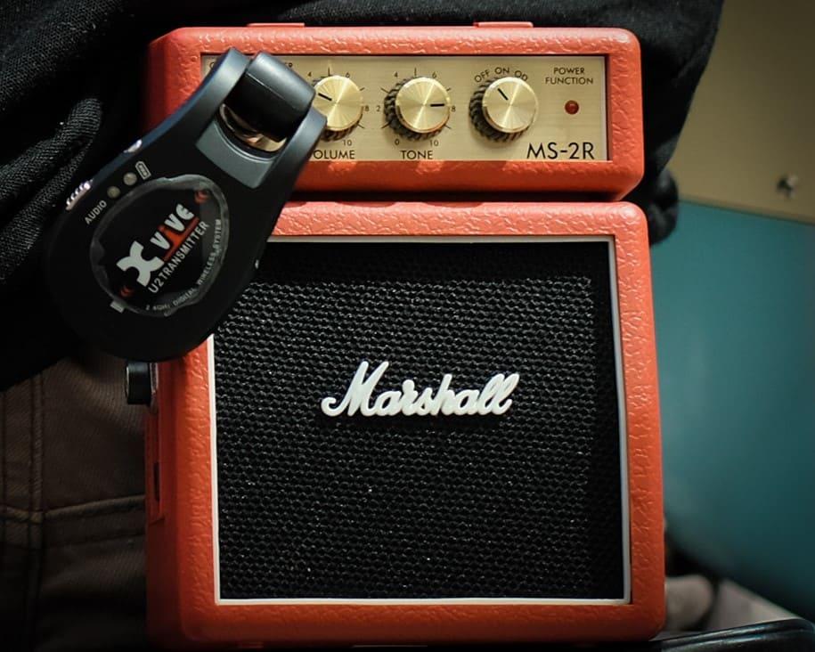 แอมป์ไฟฟ้า MARSHALL MS-2R showcase