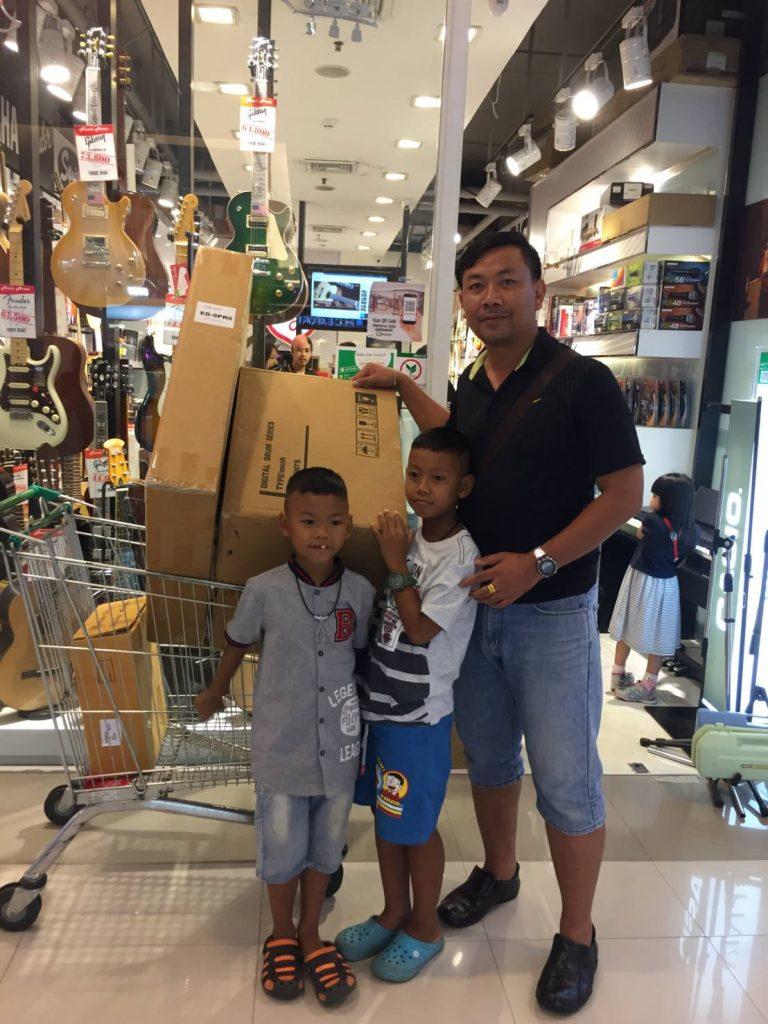ลูกค้าที่ซื้อ Midiplus ED9 Pro Electronic Drums