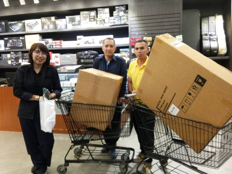 ลูกค้าที่ซื้อ Midiplus ED8 ฟรีคู่มือภาษาไทย