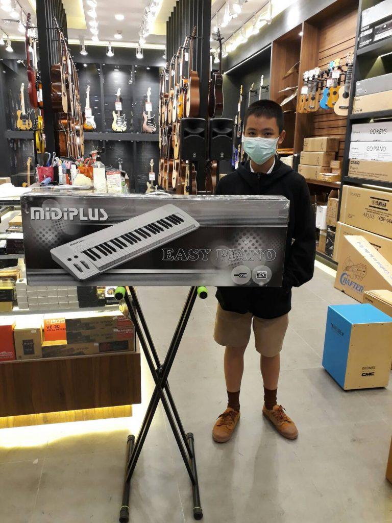 ลูกค้าที่ซื้อ เปียโนไฟฟ้า Midiplus Easy Piano