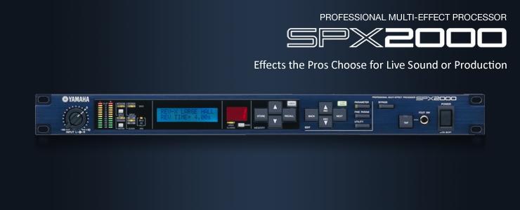 Yamaha SPX2000 ขายราคาพิเศษ