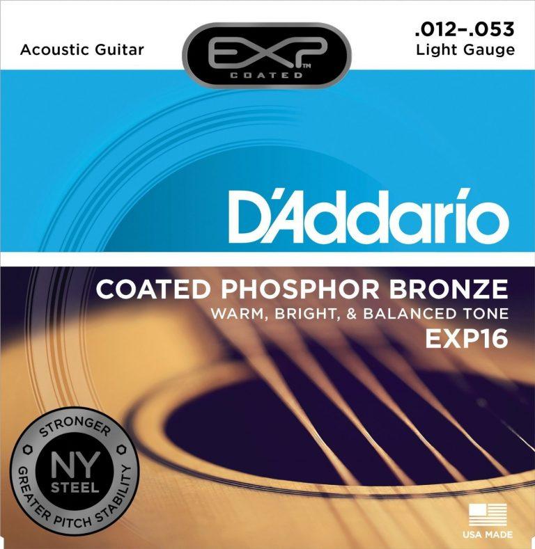 สายกีต้าร์ D'Addario EXP16 ขายราคาพิเศษ