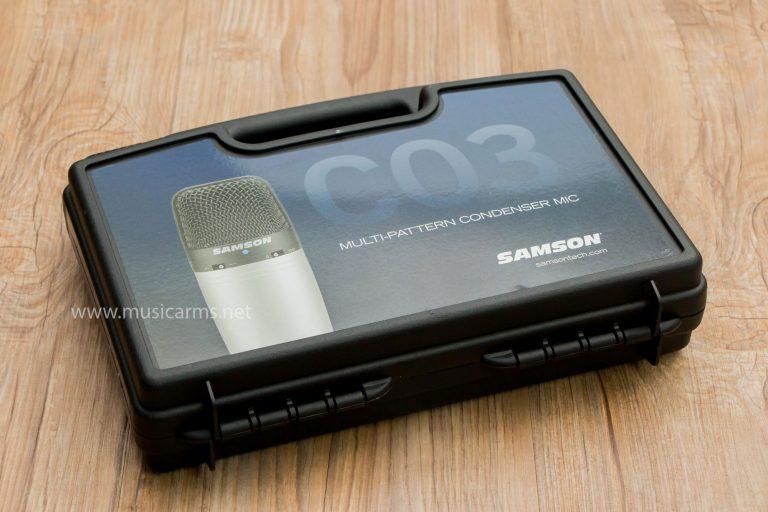 ไมค์อัดเสียง SAMSON C03 Studio Microphone ขายราคาพิเศษ