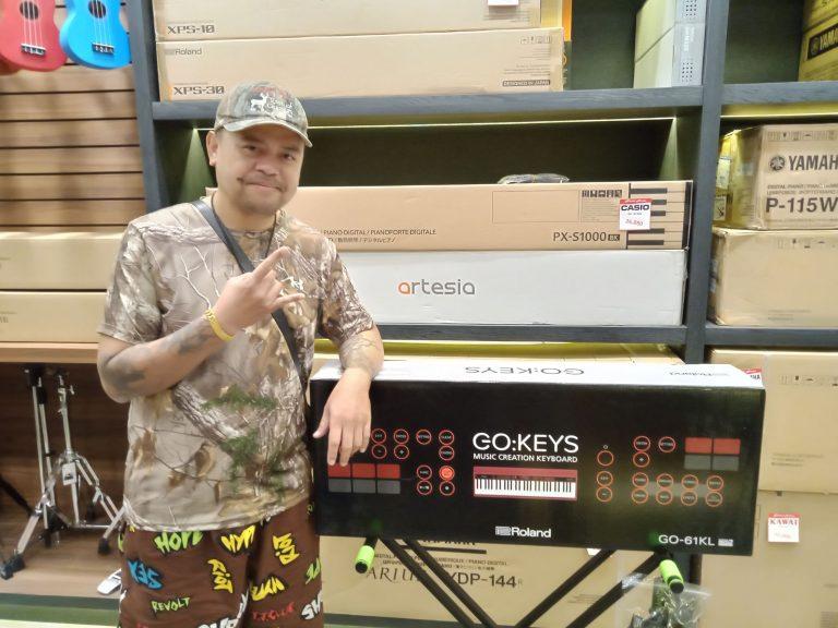 ลูกค้าที่ซื้อ Roland GO-KEYS 61 KL