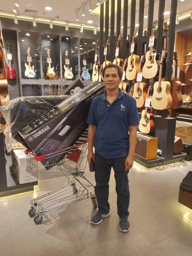 ลูกค้าที่ซื้อ Yamaha PSR-E463