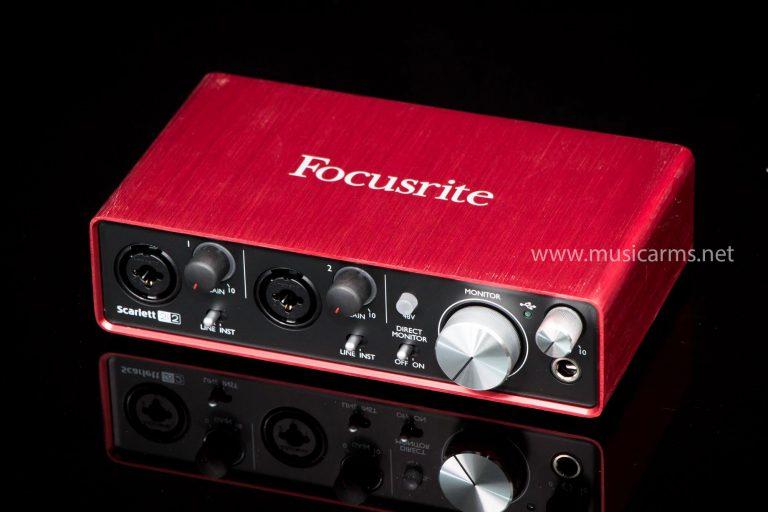 Focusrite Scarlett 2i2 audio interface ขายราคาพิเศษ