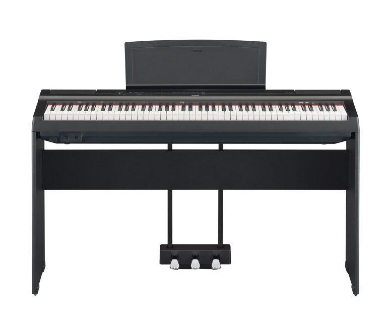 เปียโนไฟฟ้า Yamaha P125 digital piano ฟรีคู่มือภาษาไทย ขายราคาพิเศษ