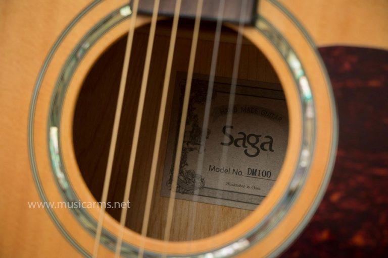 Saga DM100 soundhole ขายราคาพิเศษ