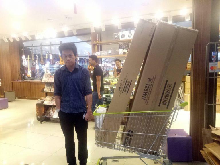 ลูกค้าที่ซื้อ Yamaha P125 Digital Piano