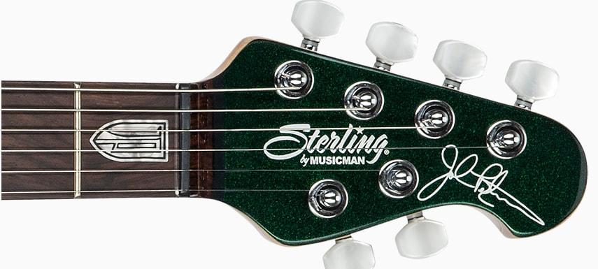 กีต้าร์ไฟฟ้า Sterling JP60 John Petrucciคอ