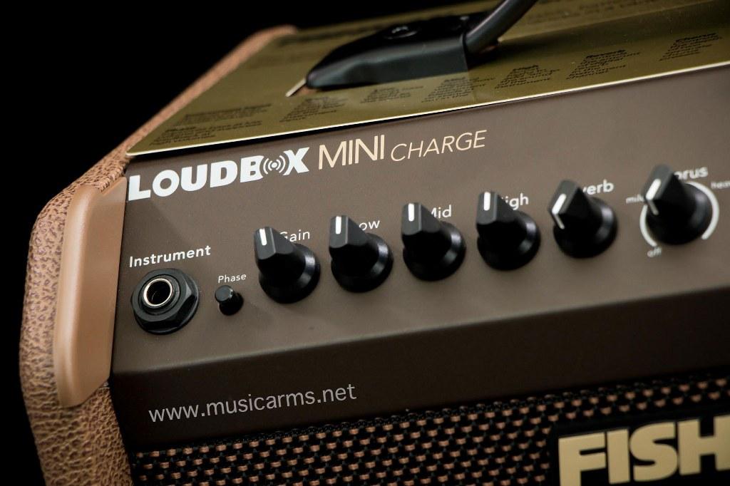 ปุ่มคอนโทรล Fishman Loudbox Mini Charge