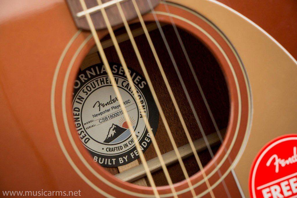 Fender Newporter Player soundhole