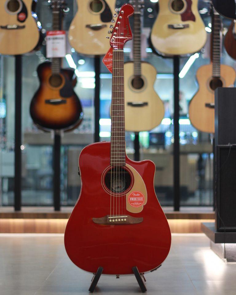 Showcase กีต้าร์โปร่งไฟฟ้า Fender Redondo Player