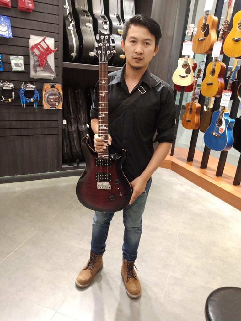 ลูกค้าที่ซื้อ PRS SE Custom 24 2018