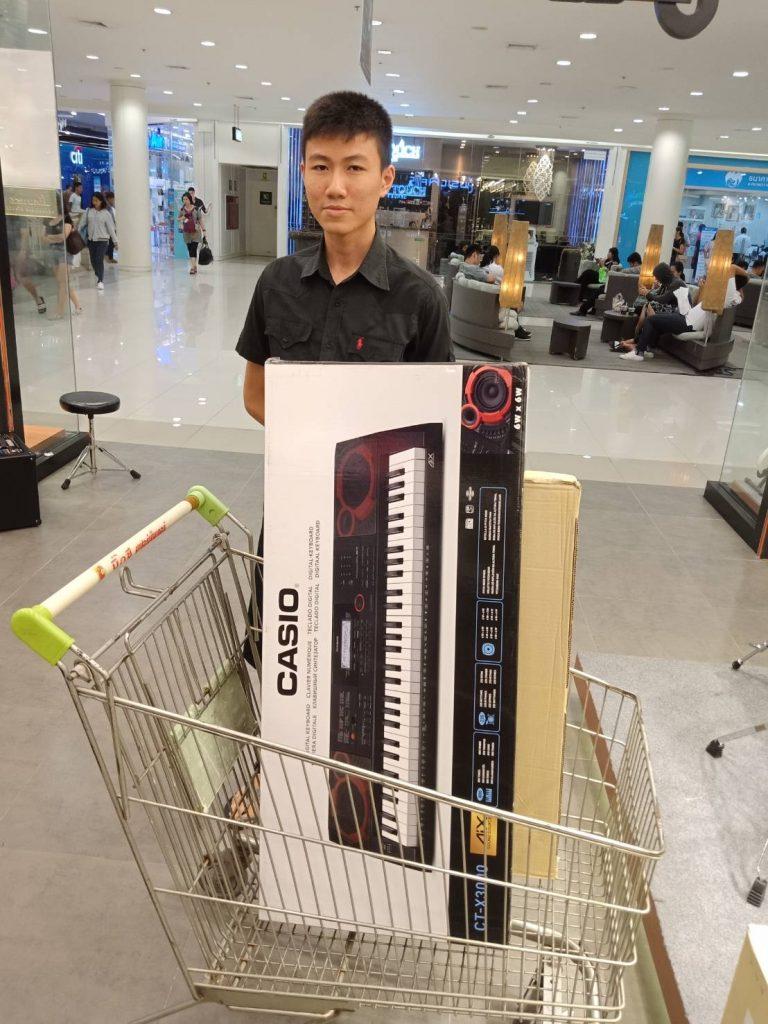 ลูกค้าที่ซื้อ Casio CT-X3000 คีย์บอร์ดคุณภาพ