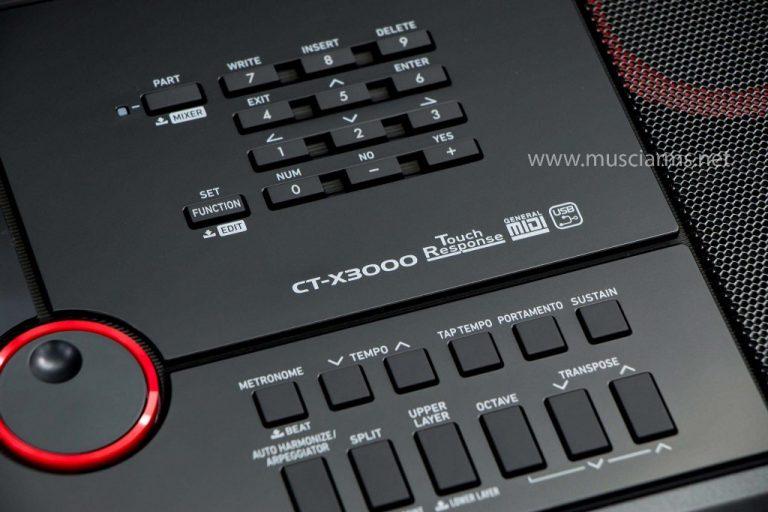 Casio CT-X3000 คีย์บอร์ด ขายราคาพิเศษ