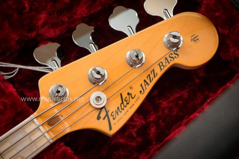 headstock Fender American Original '70s Jazz Bass ขายราคาพิเศษ