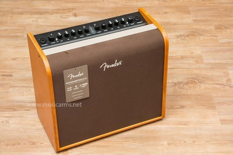 Fender Acoustic 200 ด้านหน้า ขายราคาพิเศษ