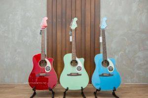 รีวิวกีต้าร์โปร่ง Fender รุ่น Sonoran SCE