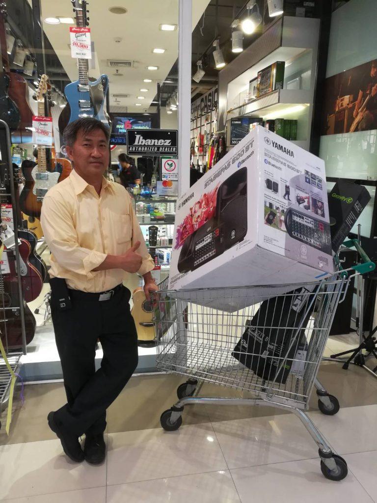 ลูกค้าที่ซื้อ Yamaha Stagepas 600BT