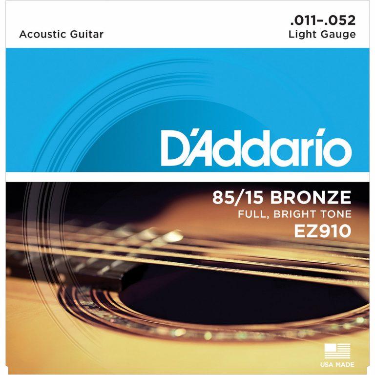 สายกีตาร์โปร่ง D'Addario EZ910 ขายราคาพิเศษ