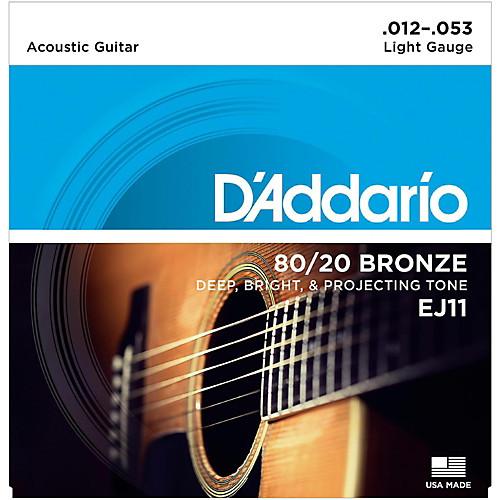 สายกีต้าร์โปร่ง D'Addario EJ11 ขายราคาพิเศษ