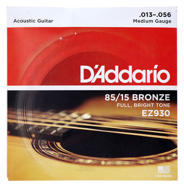 สายกีต้าร์โปร่ง D'Addario EZ930 ขายราคาพิเศษ