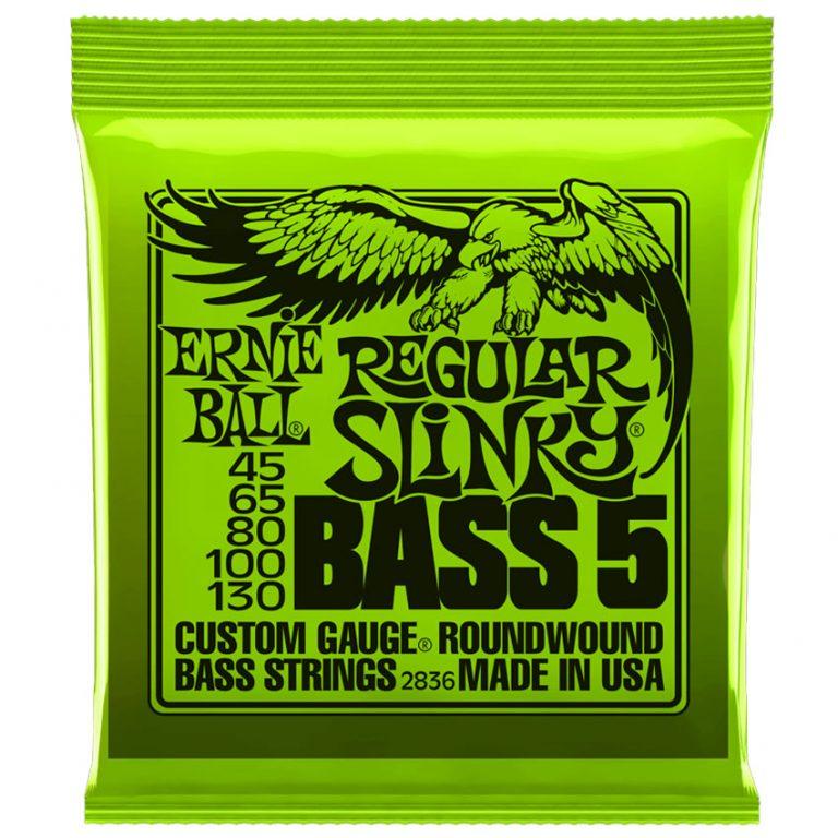 สายเบส Ernie Ball Regular Slinky 5 String 45-130 ขายราคาพิเศษ