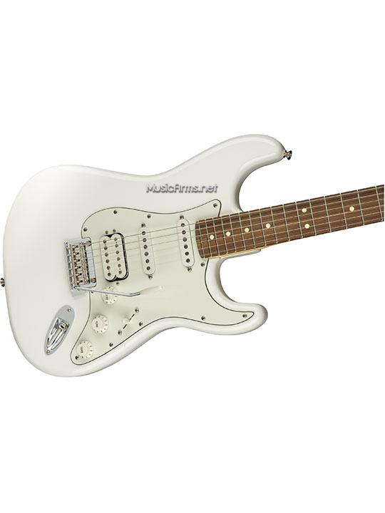Fender Player Stratocaster HSSขาวคอดำ ขายราคาพิเศษ