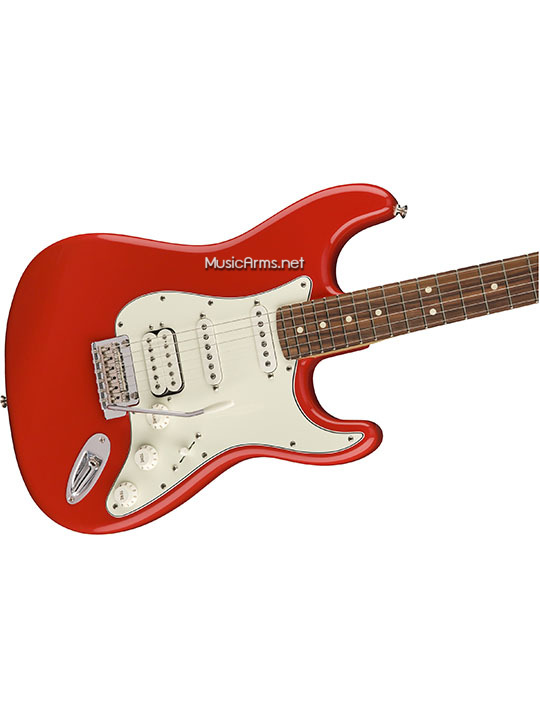 Fender Player Stratocaster HSSแดงคอขาว ขายราคาพิเศษ