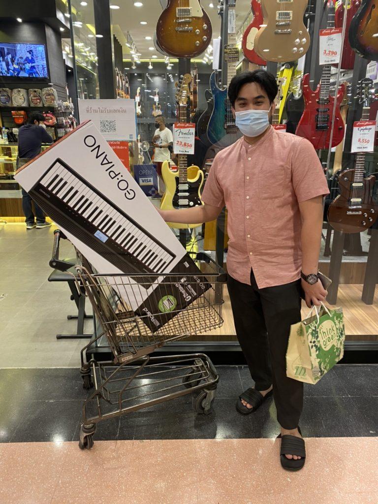 ลูกค้าที่ซื้อ เปียโนไฟฟ้า Roland GO-Piano 61 Keys