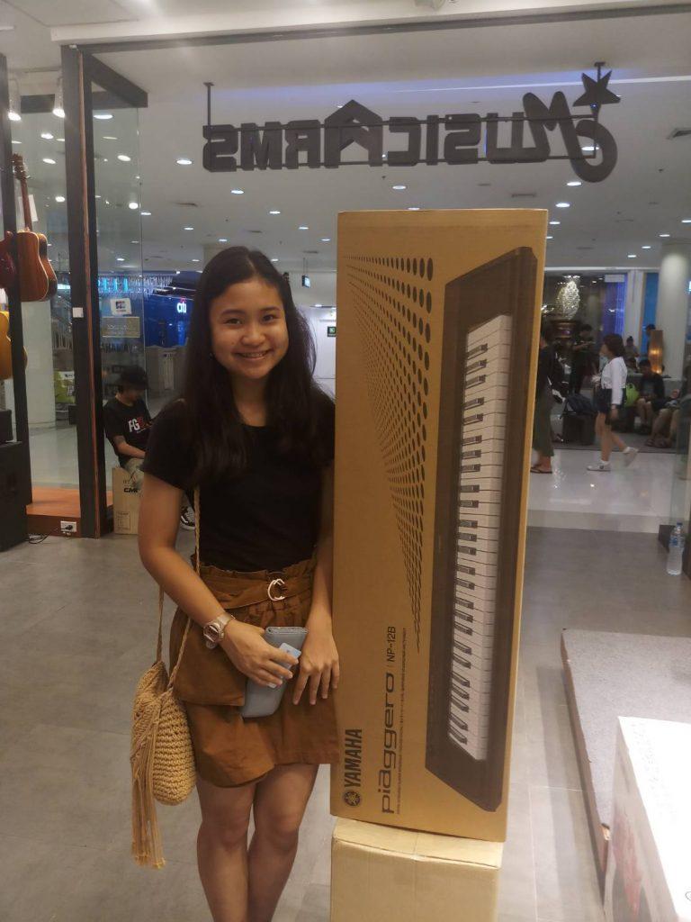 ลูกค้าที่ซื้อ Yamaha Piaggero NP-12