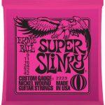 สายกีต้าร์ไฟฟ้า Ernie Ball Nickel Super Slinky เบอร์ 9/42 ลดราคาพิเศษ