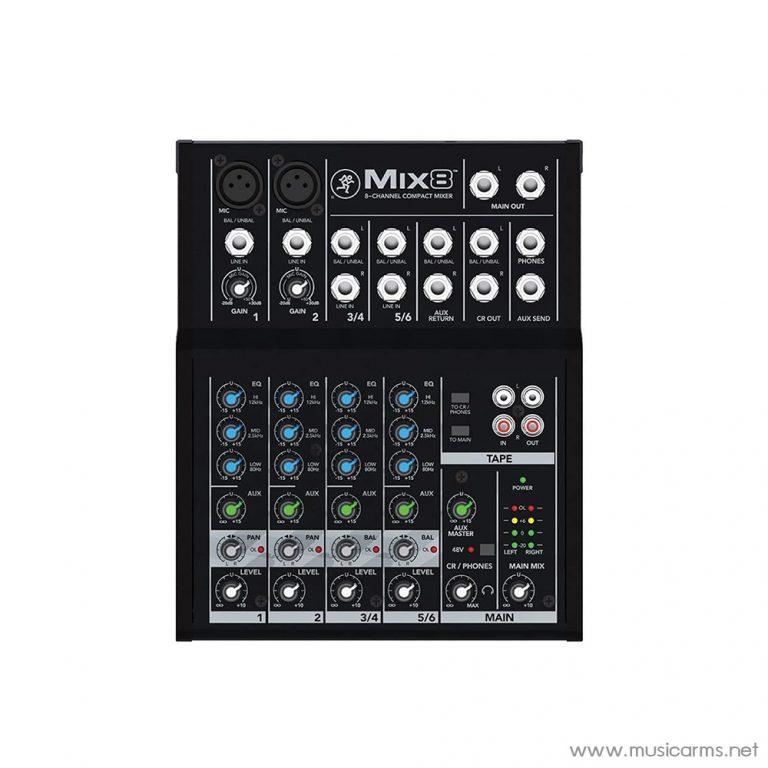 Face cover พาวเวอร์มิกเซอร์-Mackie-รุ่น-Mix8 ขายราคาพิเศษ