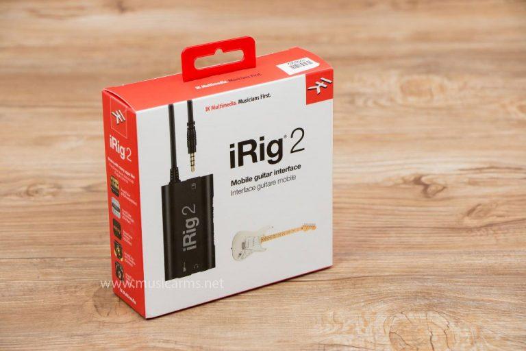 IK iRig 2 อินเตอร์เฟส ขายราคาพิเศษ