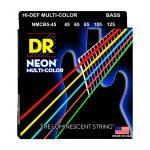 สายเบส DR Neon Hi-Def Multi-Color K3 Coated Bass String 45-125 ลดราคาพิเศษ