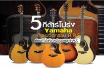 5 รุ่น Yamaha กับ นวัตกรรม A.R.E  เสียงดี ไม้แห้ง เหมือนอายุกว่าสิบปี!