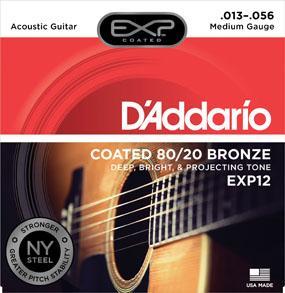 สายกีต้าร์ D'Addario EXP12 ขายราคาพิเศษ