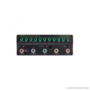Face cover Trace-Elliot-Transit-A-Acoustic-Guitar-Preamp-and-Effects-Pedal