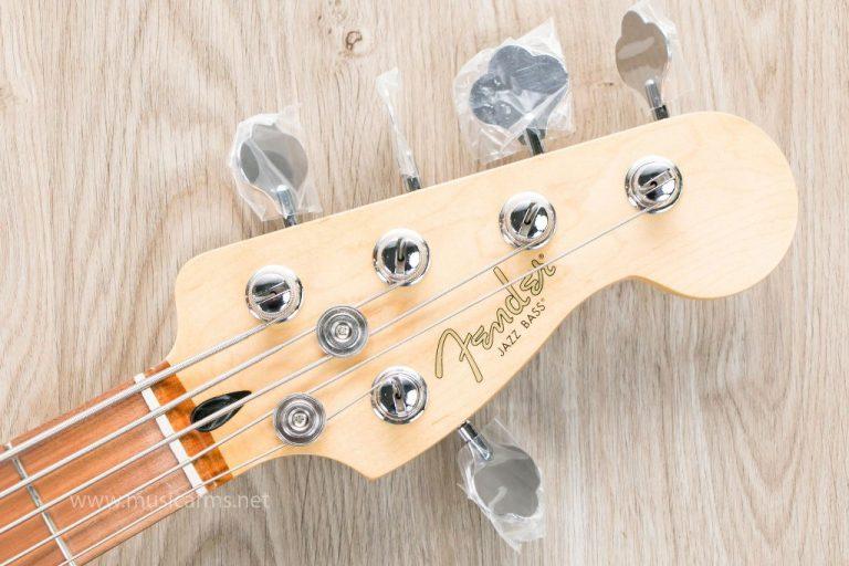 Fender Player Jazz Bass V headstock ขายราคาพิเศษ