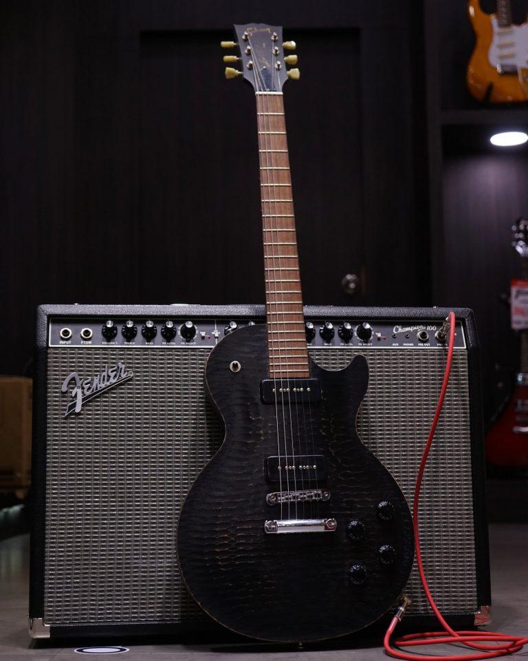 ไฟฟ้า Gibson Les Paul BFG P-90 Worn Ebony ขายราคาพิเศษ